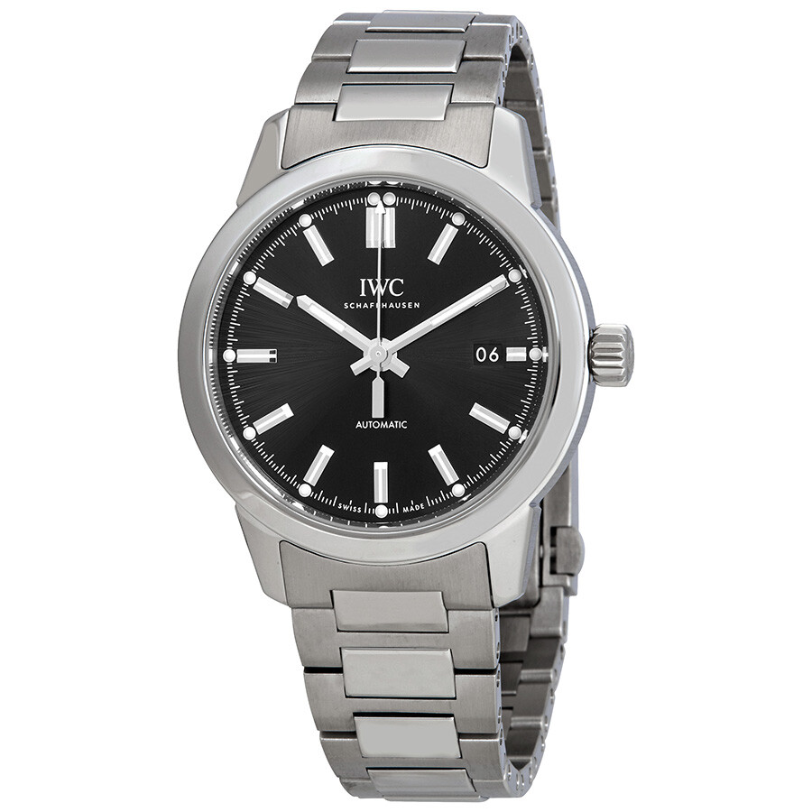 Ingenieur Automatic Black Dial Men's Watch by Iwc