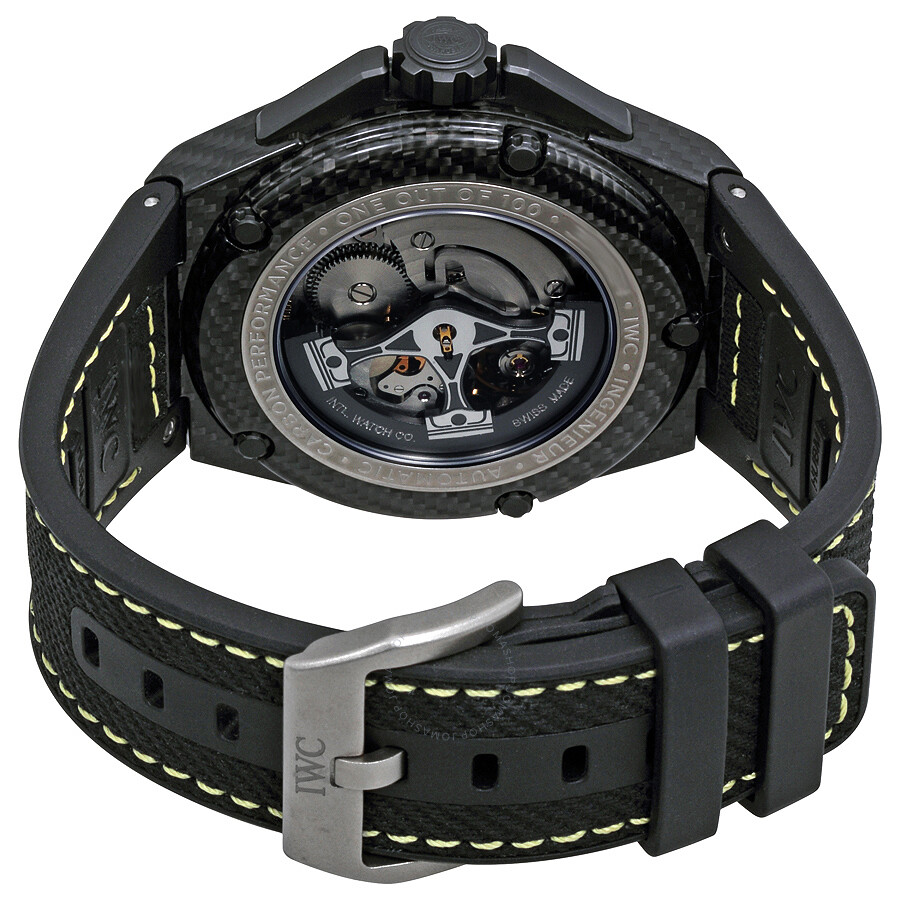 81635103752 IWC Ingenieur Automatic Carbon Performance Men s Watch IW322401 ...