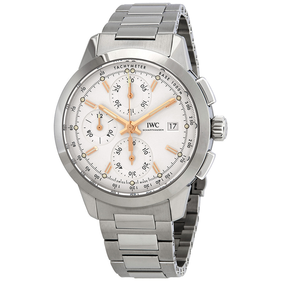the best attitude cbbc4 b8af5 IWC Ingenieur Chronograph Automatic Silver Dial Men's Watch IW380801