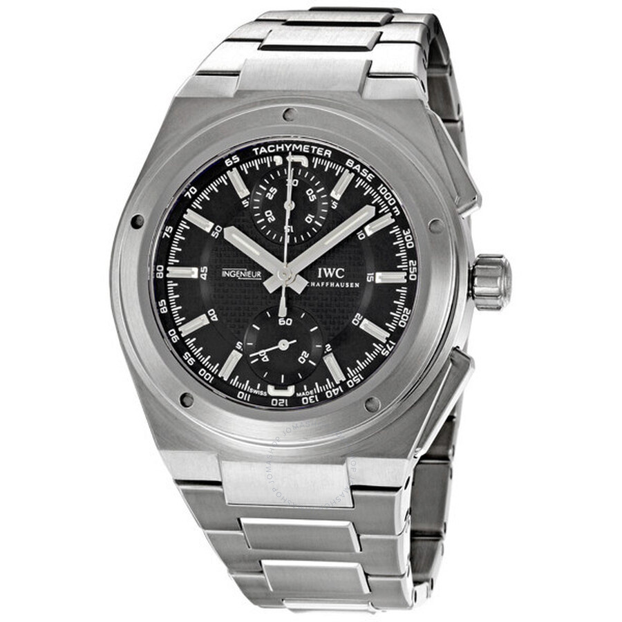 timeless design 02cae c7e80 IWC Ingenieur Chronograph Steel Men's Watch IW372501