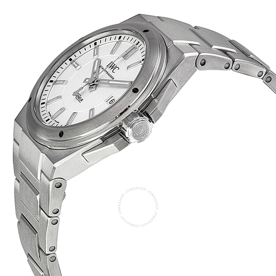 90f2959881d0 ... IWC Ingenieur Silver Stainless Steel Automatic Men's IW323904 ...