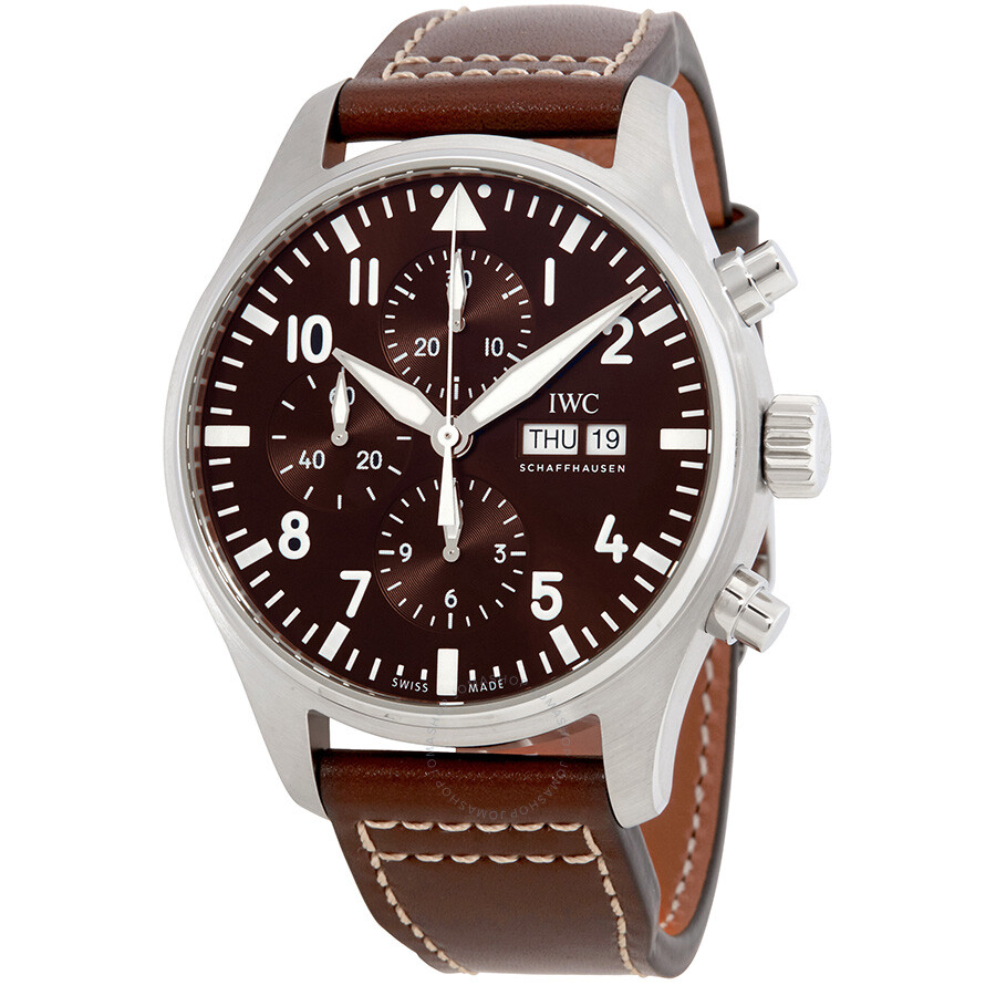f03099dee6db IWC Pilot Antoine de Saint Exupery Chronograph Men s Watch IW377713 ...
