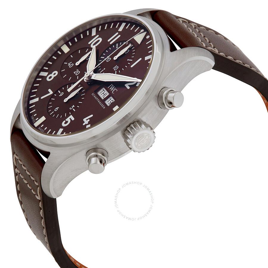 cde2a5290759 ... IWC Pilot Antoine de Saint Exupery Chronograph Men s Watch IW377713 ...