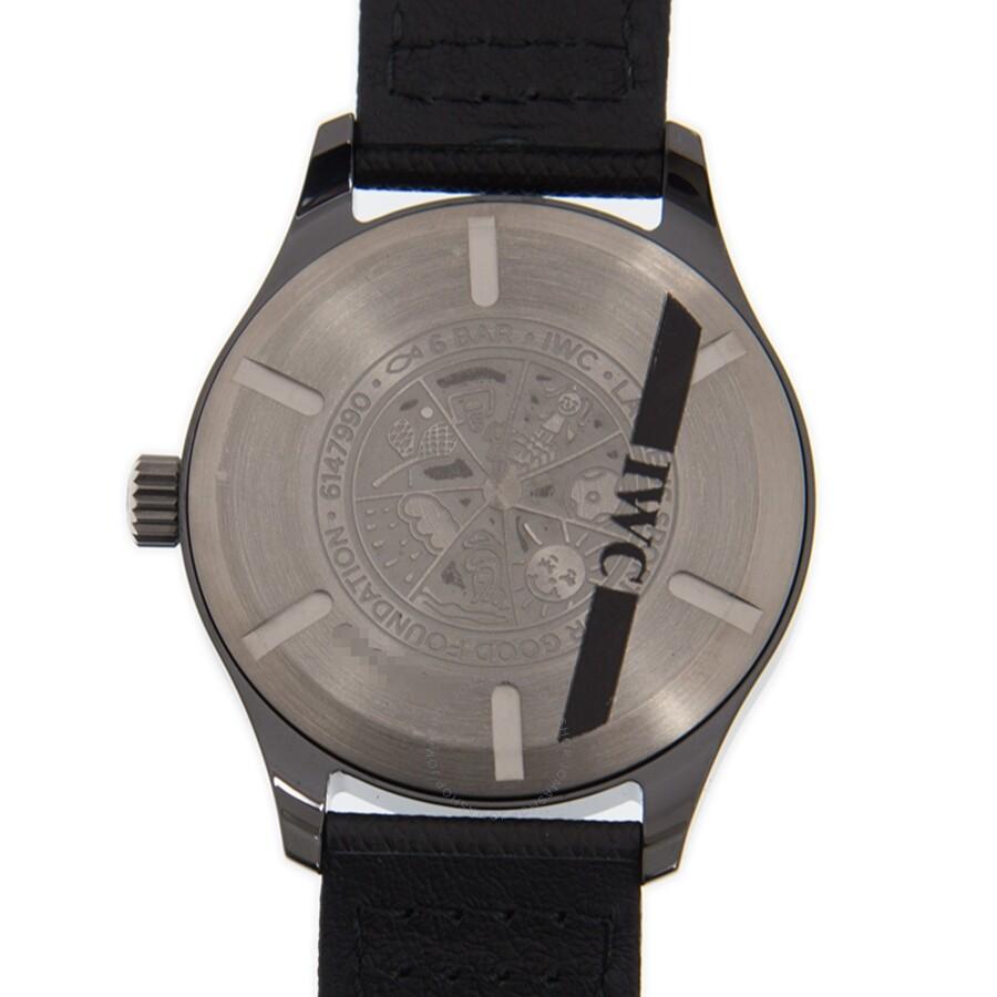 promo code 0ffc1 2f814 IWC Pilot Mark XVIII Laureus Automatic Blue Dial Men's Watch IW324703