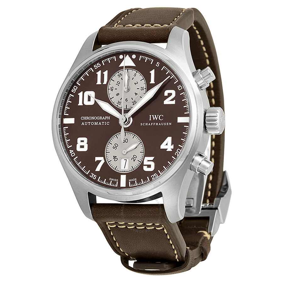 IWC Pilots Antoine De Saint Exupery Chronograph Automatic Men's Watch