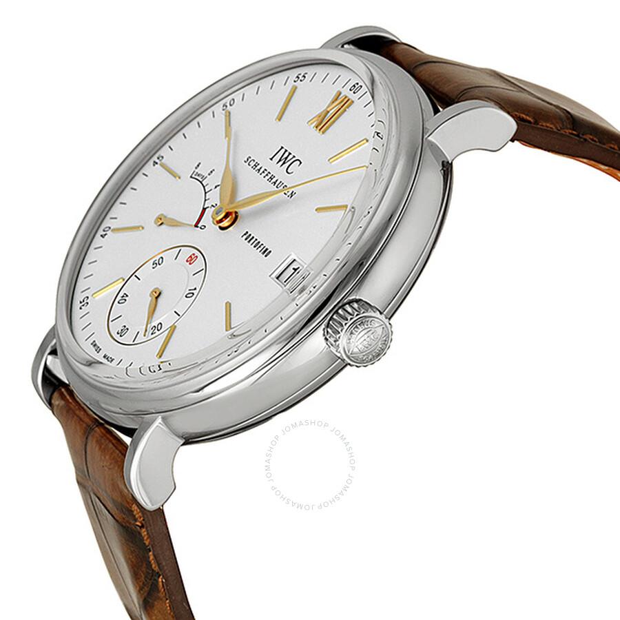 045fe0849892b ... IWC Portofino Hand Wound Eight Days Silver Dial Men s Watch IW510103 ...