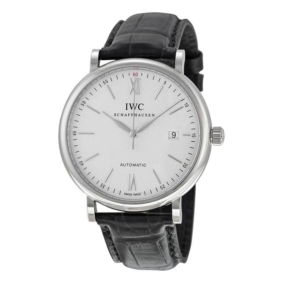 2eecfbdc5f9 IWC Portofino Automatic Silver Dial Men s Watch 3565-01