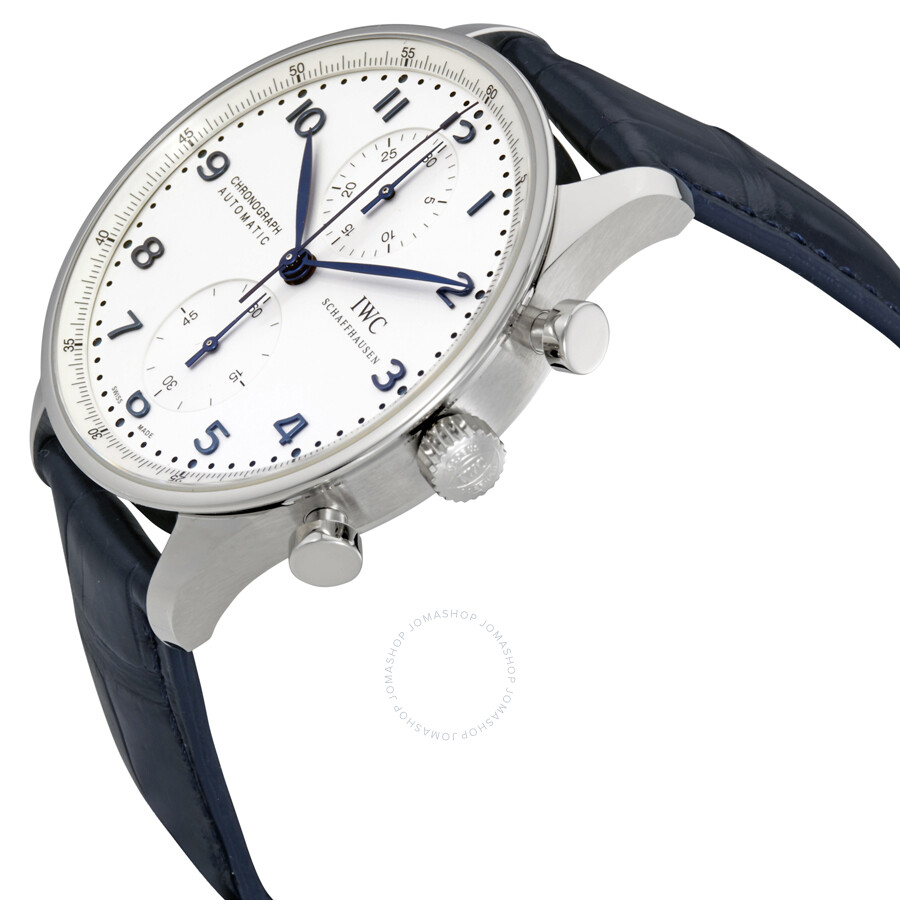 iwc portuguese chronograph automatic white dial men 39 s watch iw371446 portuguese iwc
