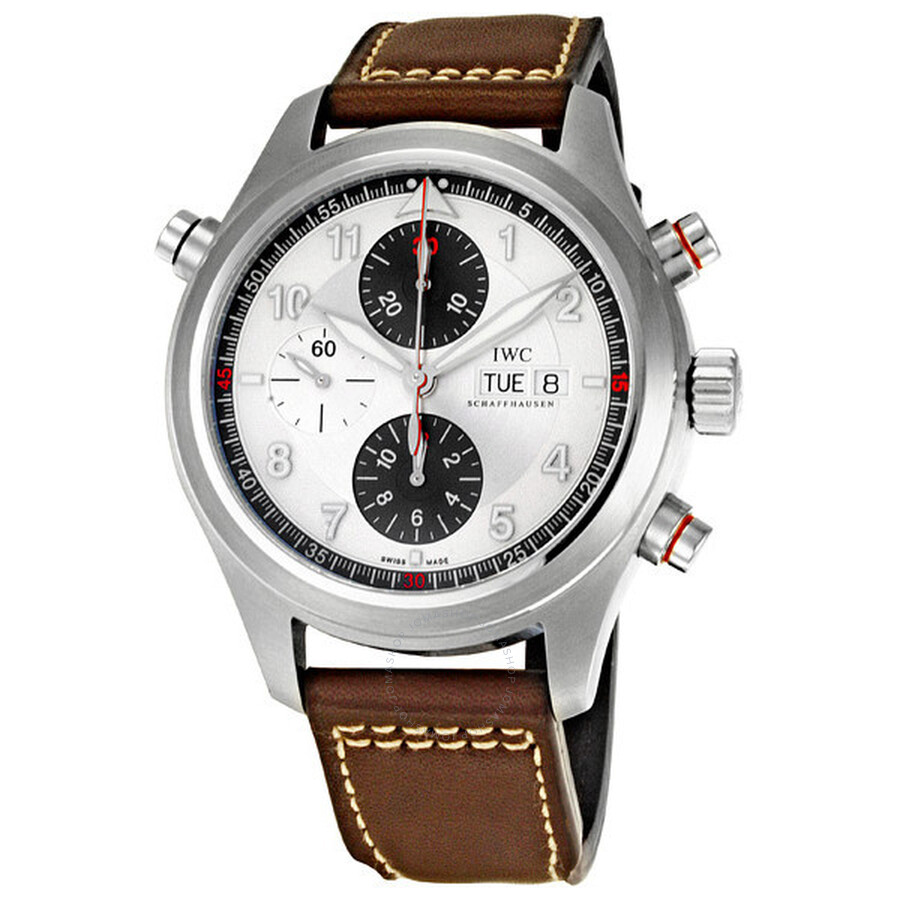 spitfire watch. iwc spitfire double chronograph men\u0027s watch iw371806 i