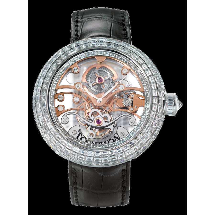 Jacob co crystal tourbillon cry1 the rainbow tourbillion jacob co watches jomashop for Jacob co watches