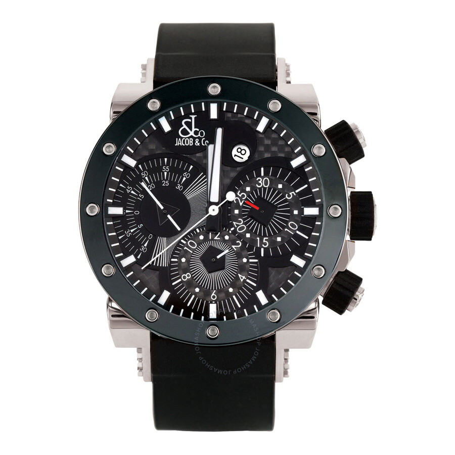 jacob co epic ii limited edition automatic chronograph