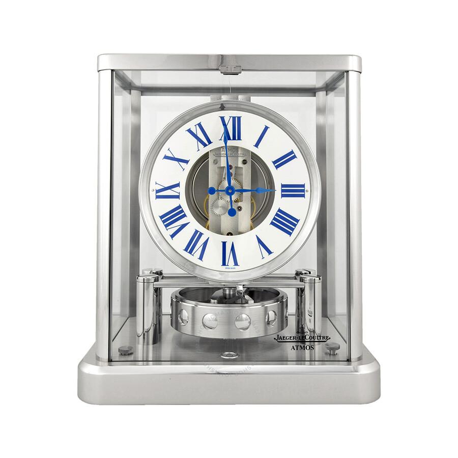 Jaeger Lecoultre Atmos Classique White Dial Clock Q5102201