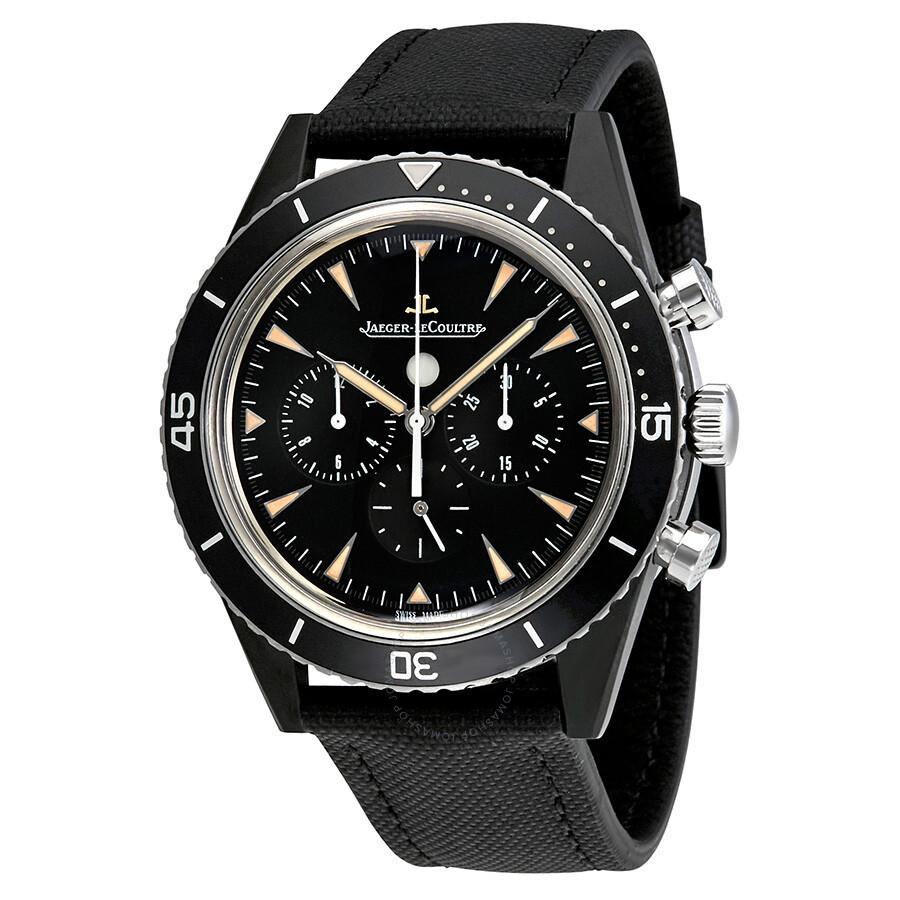 Jaeger lecoultre deep sea chronograph vintage cermet automatic men 39 s watch q208a57j jaeger for Lecoultre watches
