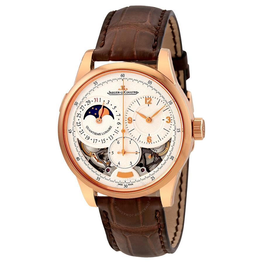 Jaeger lecoultre duometre quantieme lunaire men 39 s watch q6042422 duometre jaeger lecoultre for Lecoultre watches