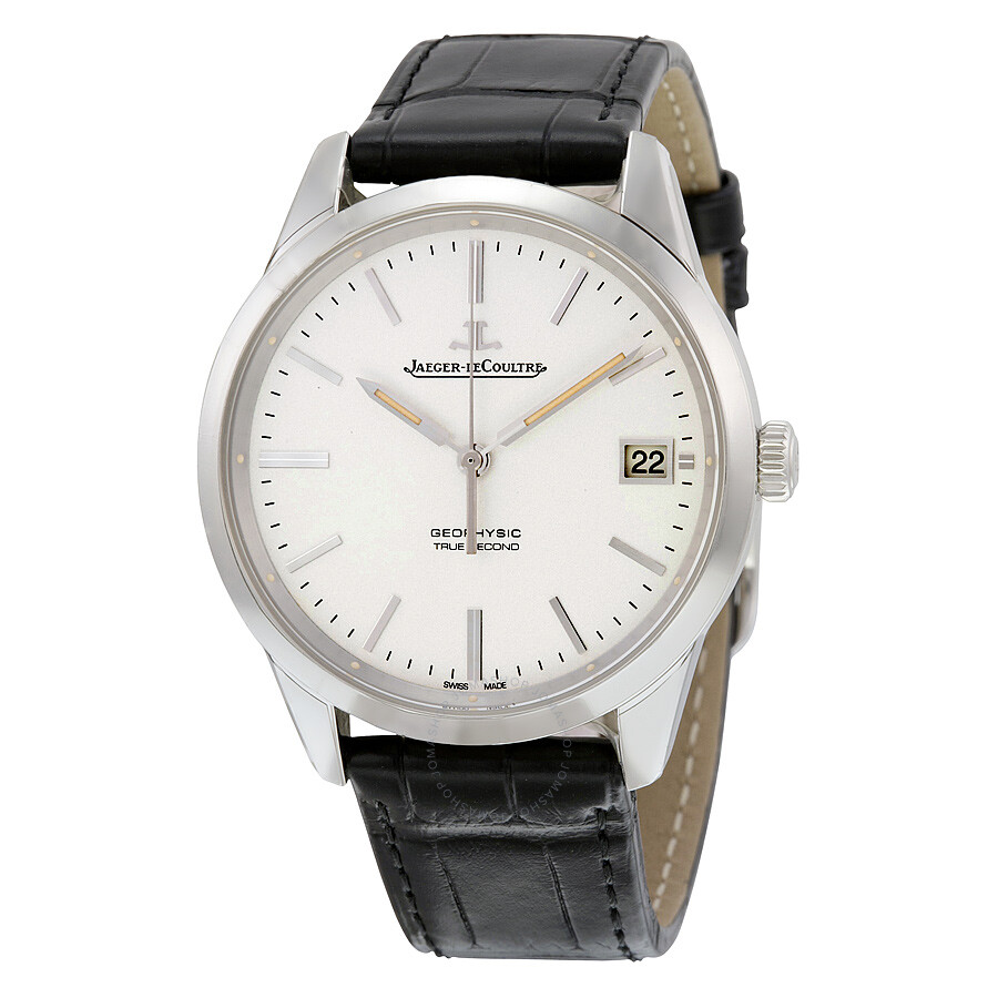 Jaeger lecoultre geophysic automatic silver dial men 39 s watch q8018420 geophysic jaeger for Lecoultre watches