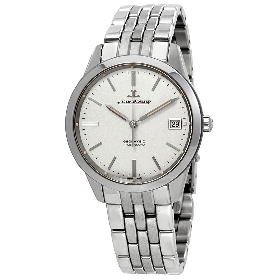 Jaeger lecoultre geophysic true second automatic silver dial men 39 s watch q8018120 geophysic for Geophysic watches