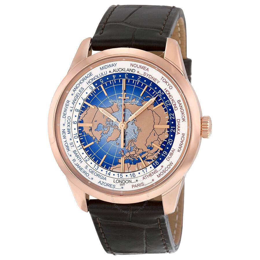Jaeger LeCoultre Geophysic Universal Time Automatic Blue ...
