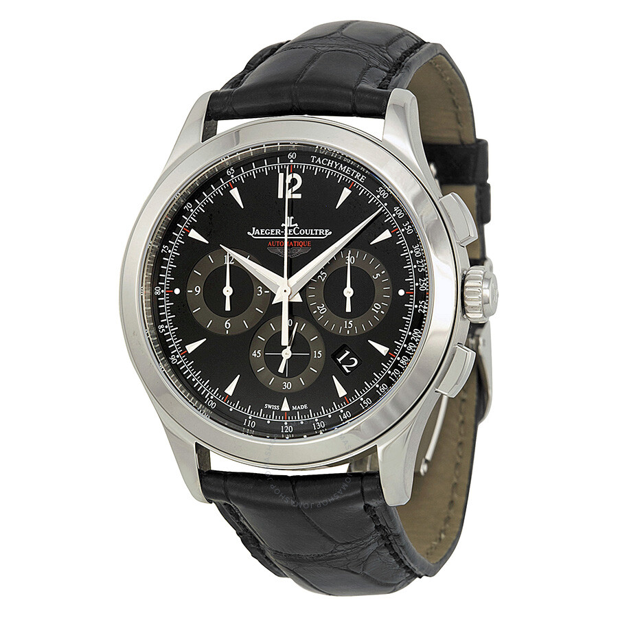 Jaeger lecoultre master chronograph automatic men 39 s watch q153847n master jaeger lecoultre for Lecoultre watches