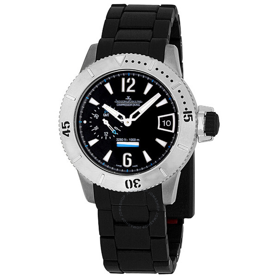 5f8f1c9dd6f Jaeger LeCoultre Master Compressor Diving GMT 46.3 Men's Watch Q184T770 ...