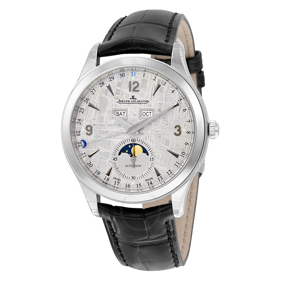 Jaeger lecoultre master control automatic meteorite dial men 39 s watch q1558421 master control for Lecoultre watches