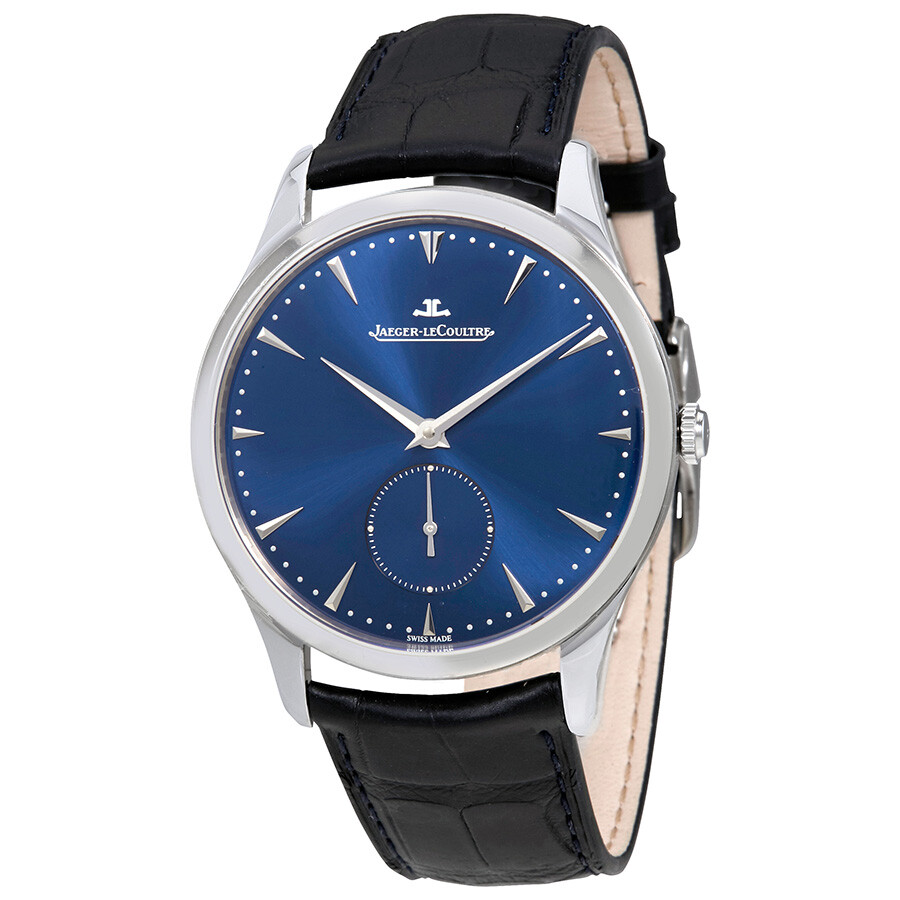 Jaeger lecoultre master grande automatic men 39 s leather watch q1358480 master grande master for Lecoultre watches