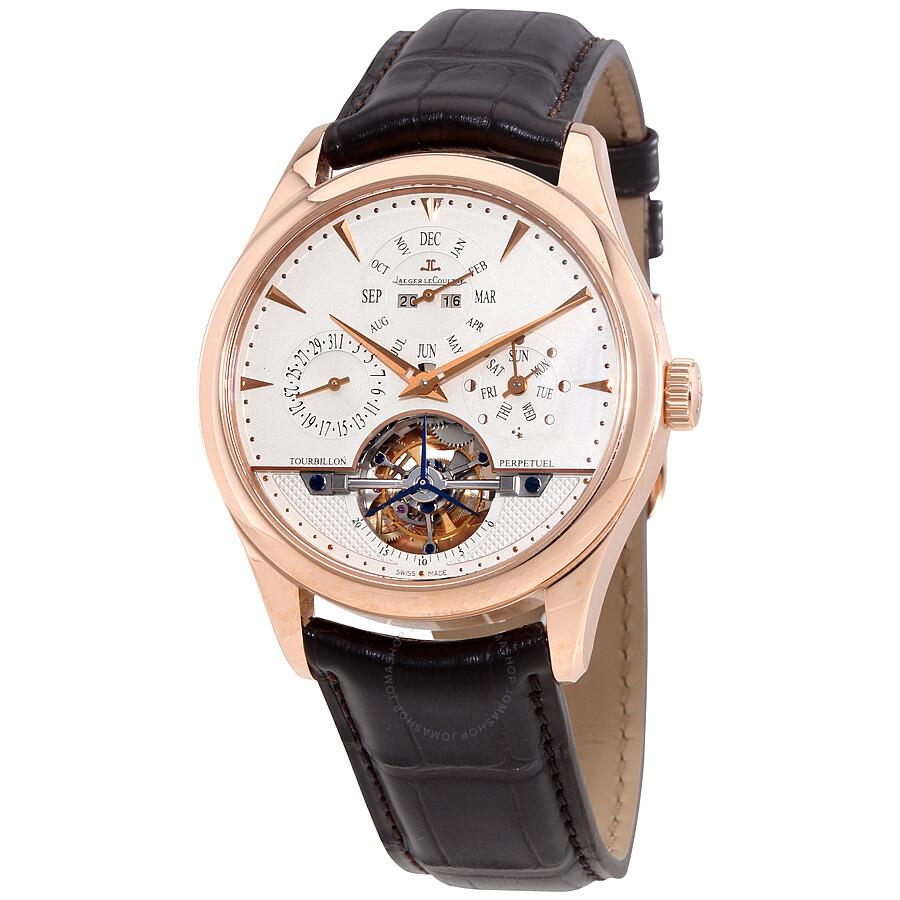 Jaeger lecoultre master grande tradition tourbillon quantieme perpetual men 39 s watch q500242a for Lecoultre watches