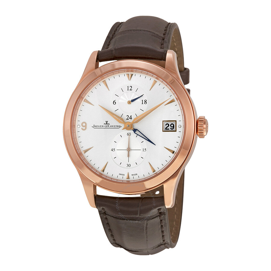 Jaeger lecoultre master hometime silvered dial men 39 s watch q1622530 master jaeger lecoultre for Lecoultre watches
