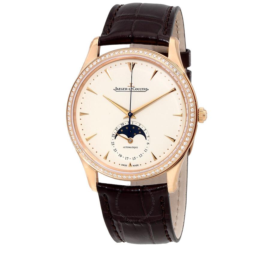 Jaeger LeCoultre Master Ultra Thin Automatic Diamond Rose Gold Men s Watch  Q1362501 ... 5ef6de540f