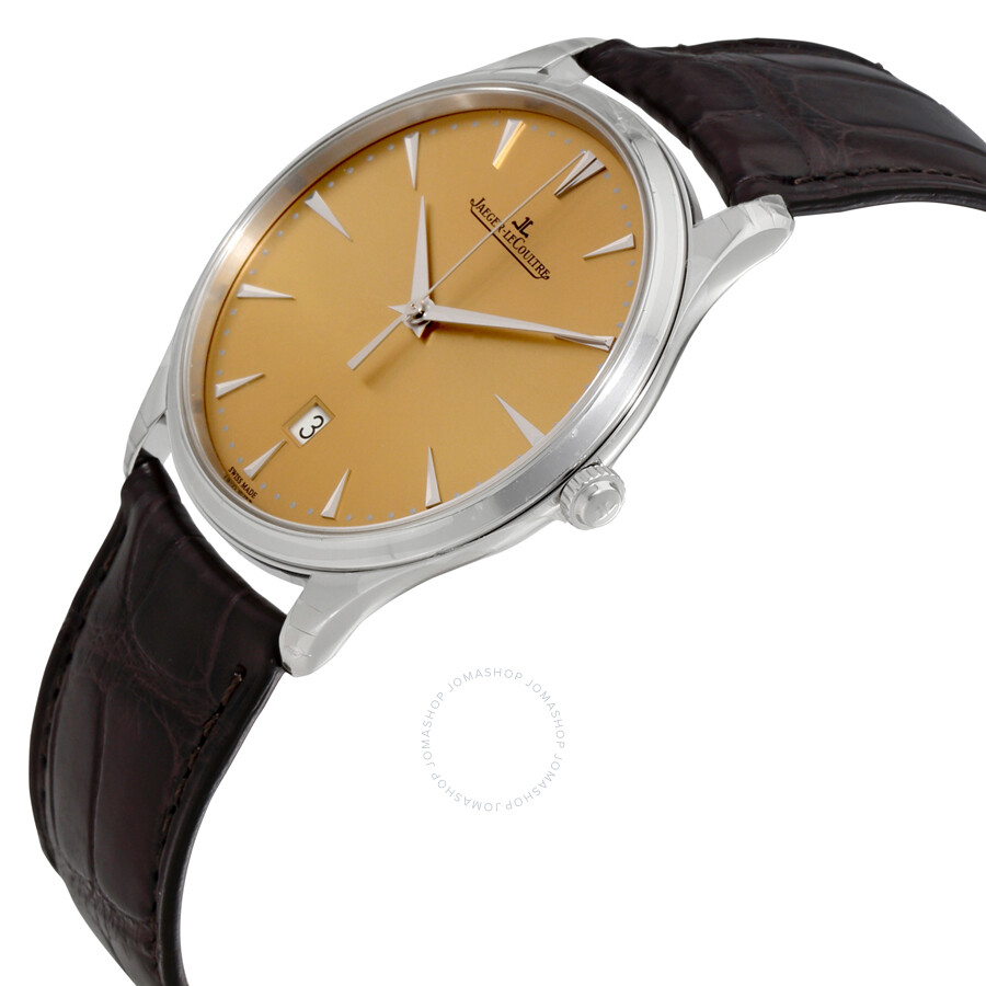 thin dress watch automatic jaeger lecoultre master ultra thin automatic men u0027s watch q1288430
