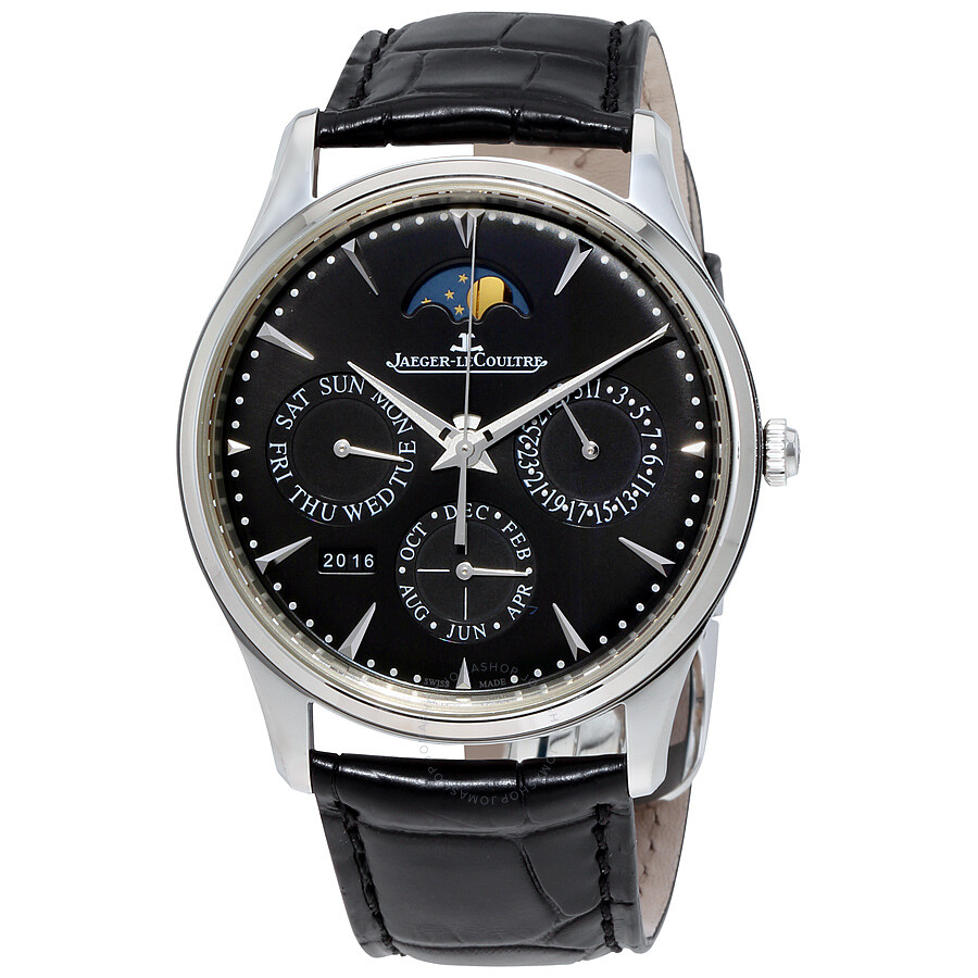 Jaeger lecoultre master ultra thin automatic men 39 s watch q1308470 master ultra thin master for Lecoultre watches