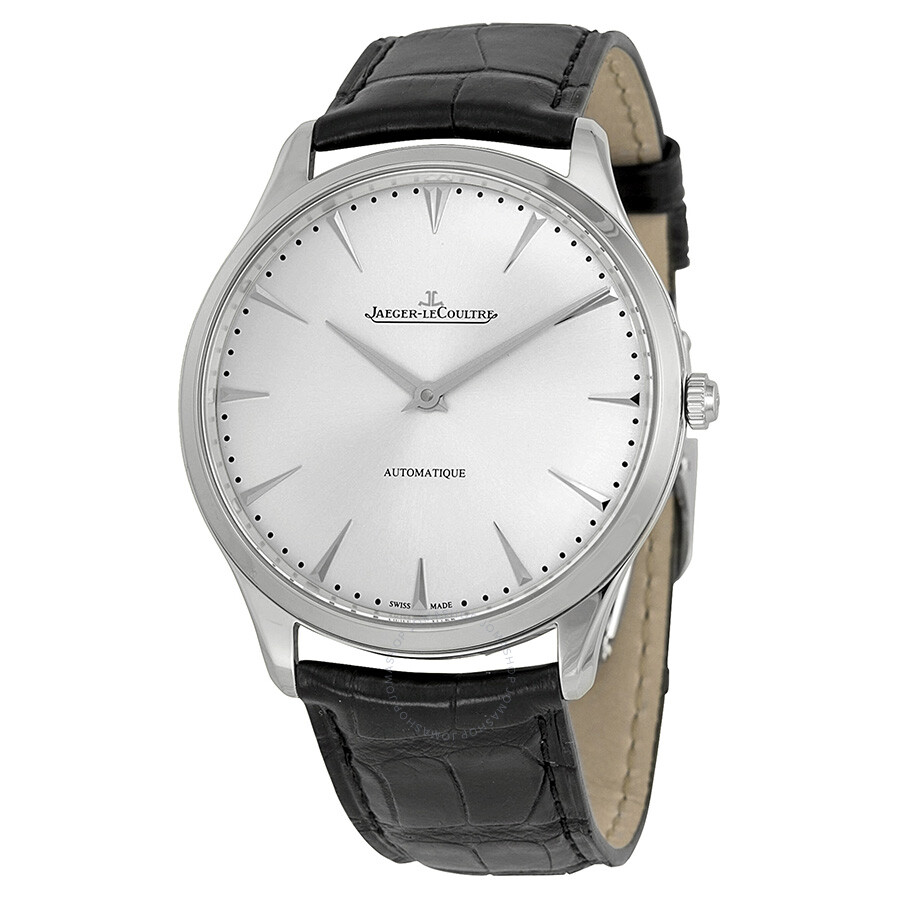 Jaeger lecoultre master ultra thin automatic stainless steel men 39 s watch q1338421 master ultra for Lecoultre watches