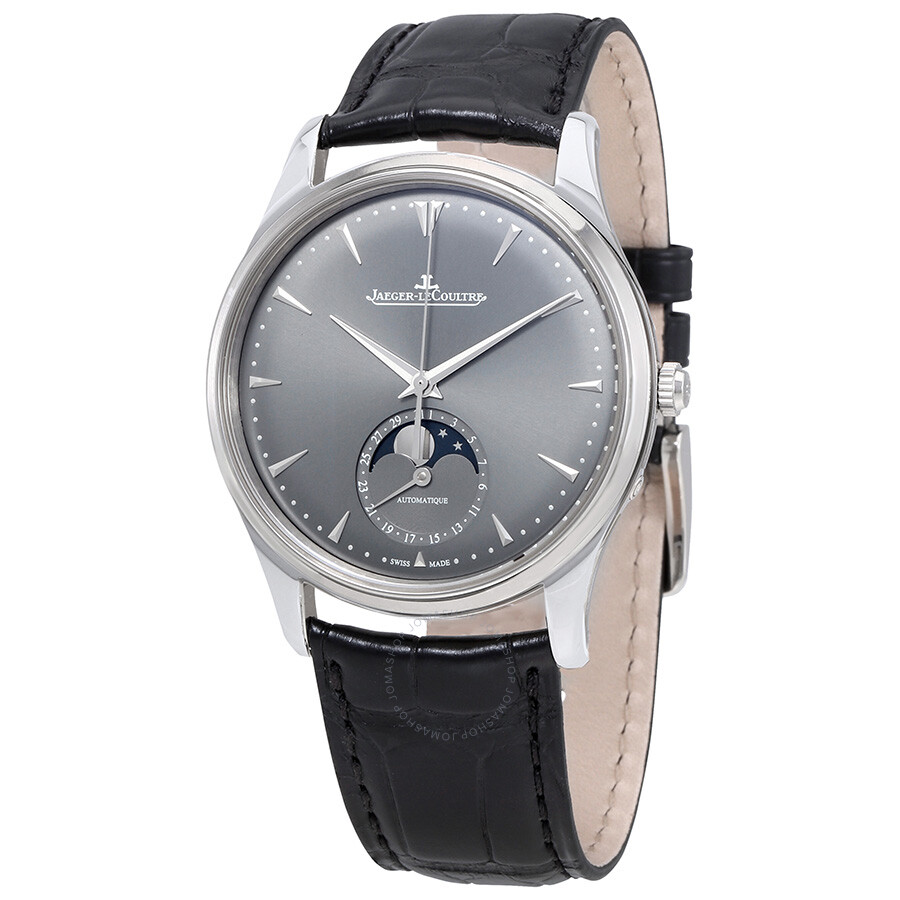 Jaeger lecoultre master ultra thin moon white gold automatic men 39 s watch q1363540 master ultra for Lecoultre watches