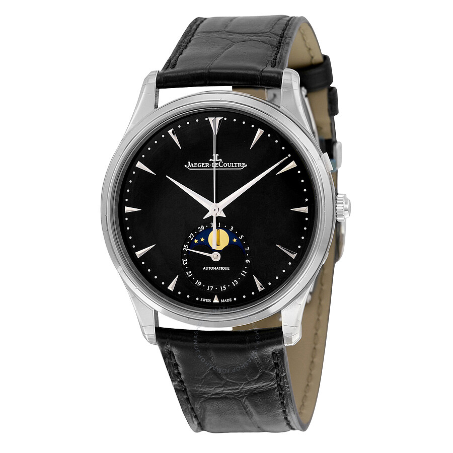 Jaeger lecoultre master ultra thin moon automatic men 39 s watch q1368470 master ultra thin for Lecoultre watches