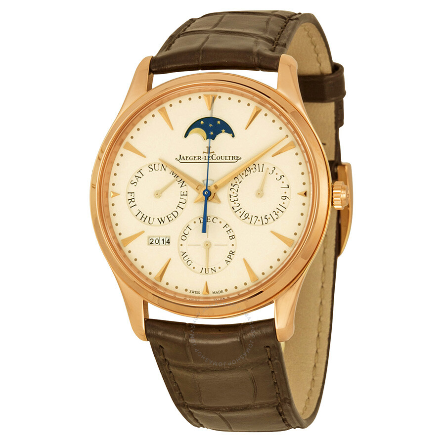 Jaeger lecoultre master ultra thin perpetual calendar automatic men 39 s watch q1302520 master for Lecoultre watches