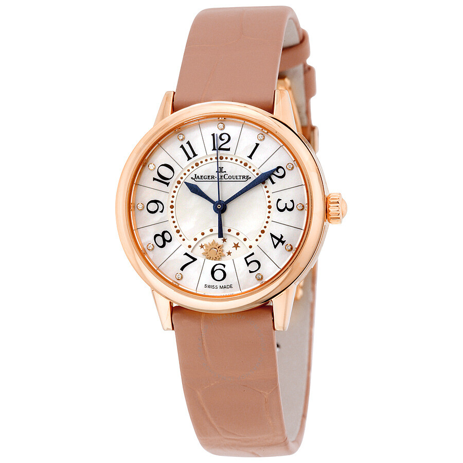 plus récent 3ecff 1af5f Jaeger LeCoultre Rendez Vous Night and Day Automatic 18kt Pink Gold Ladies  Watch Q3462490