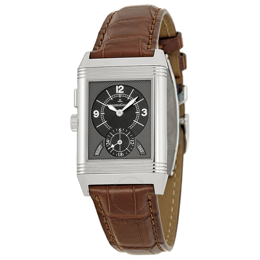 7b394a53d9bf Jaeger LeCoultre Reverso Duo Steel Men s Watch 271.84.10 Item No. Q2718410