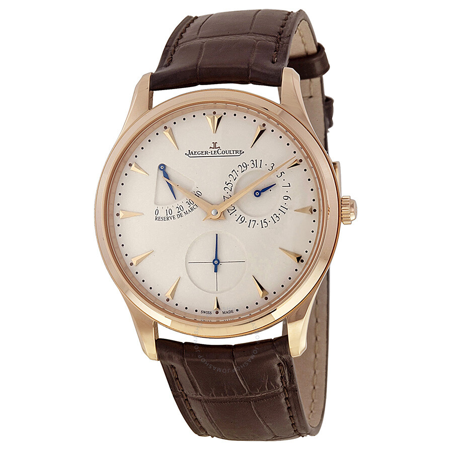 Jaeger lecoultre ultra thin reserve de marche automatic rose gold men 39 s watch q1372520 master for Lecoultre watches