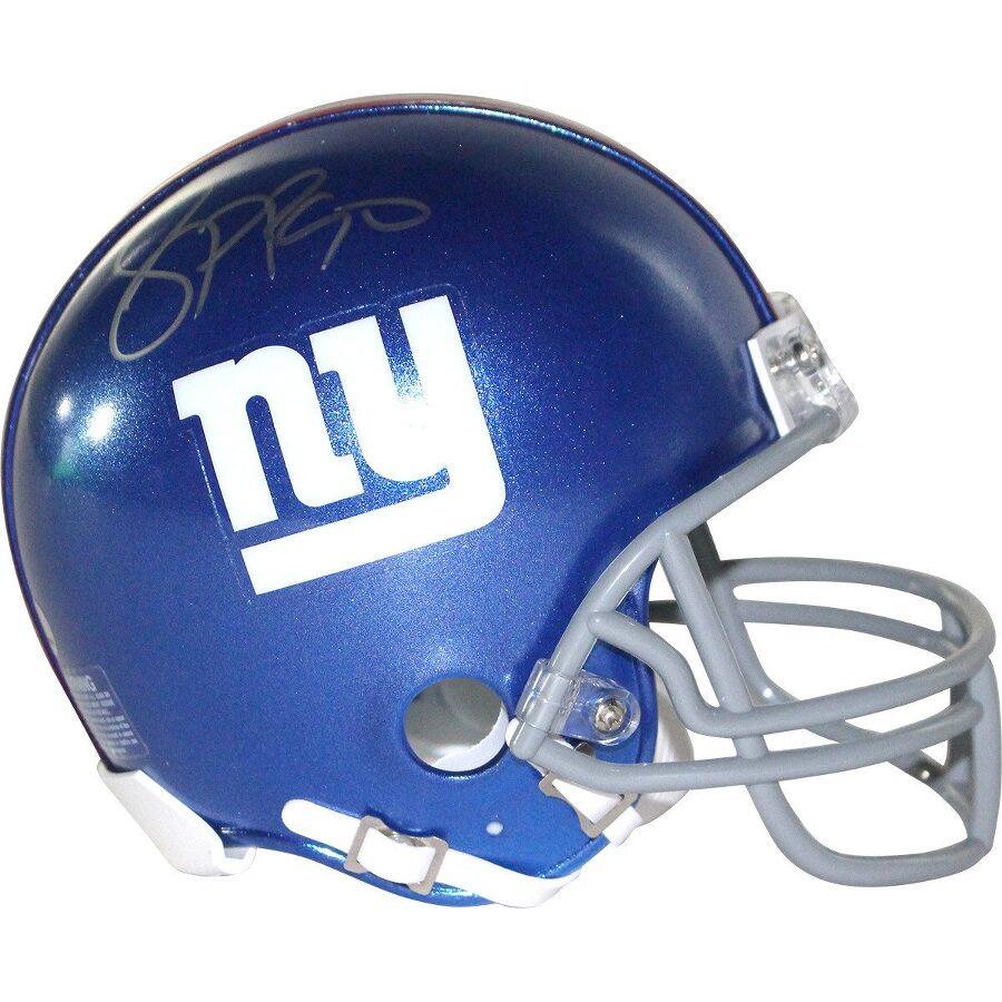 Signature Jason Pierre Paul: Jason Pierre-Paul Signed New York Giants Mini Helmet