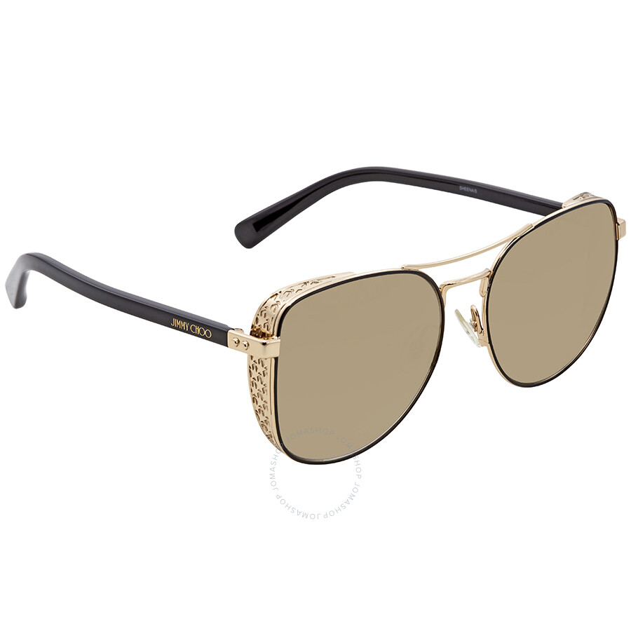 b03a966d48c9 Jimmy Choo Aviator Ladies Sunglasses SHEENA S 58JL 58 - Jimmy Choo ...