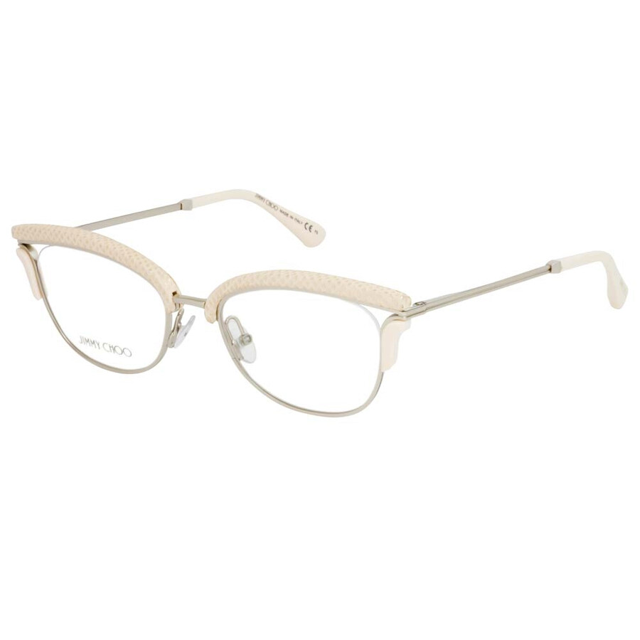 9efd0d7a0fd8 Jimmy Choo Gold Light Pink Eyeglasses JC169 PTF 50 - Jimmy Choo ...