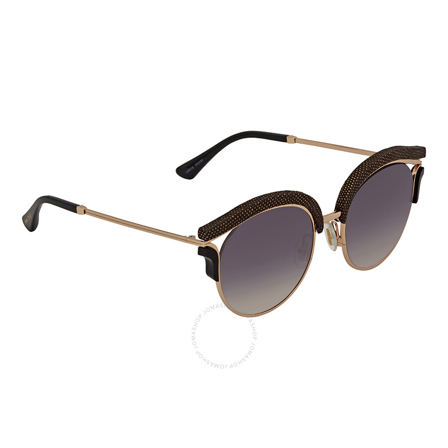 6ba2e29062ea Jimmy Choo Grey Gradient Round Sunglasses LASH S 539C 53 - Jimmy ...