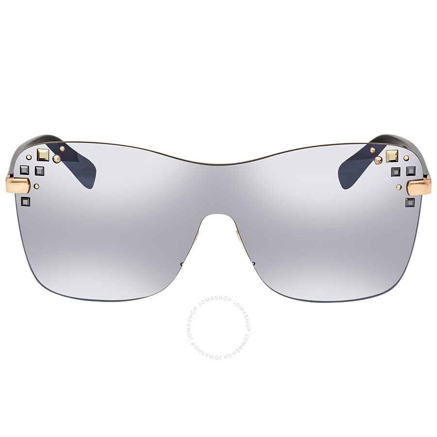 06ec317f3cc ... Jimmy Choo Grey Mirror Rectangular Ladies Sunglasses MASK S 99U4 99 ...