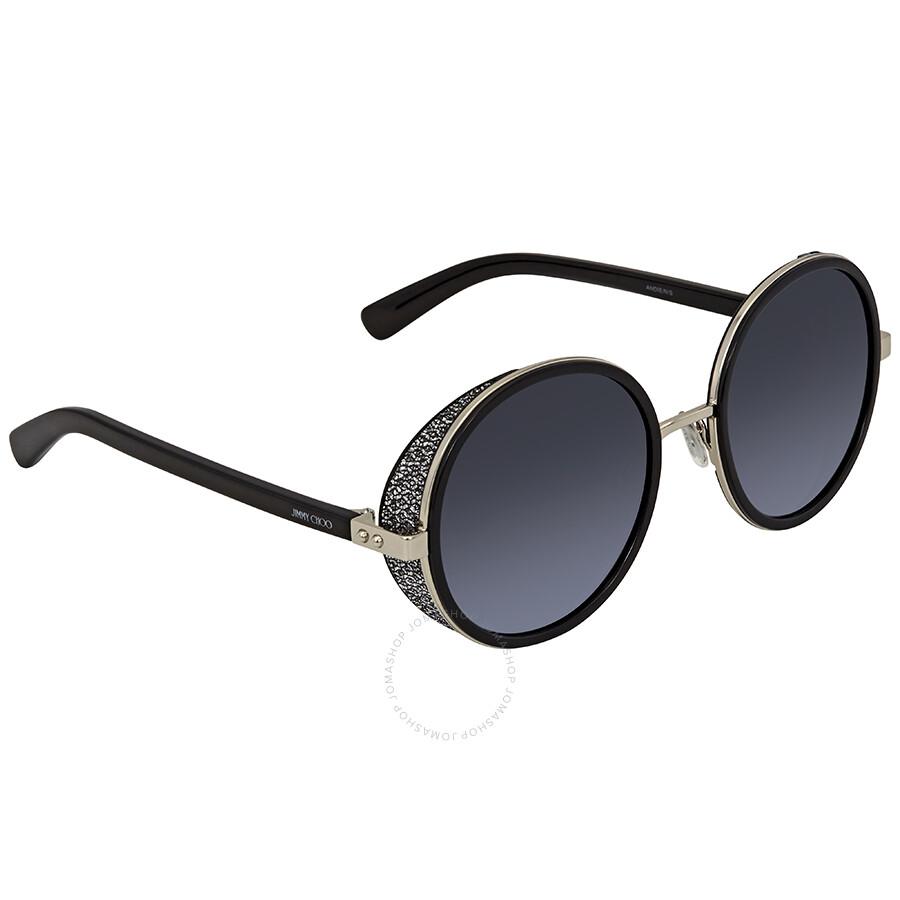 1e4d967b5857 Jimmy Choo Grey Round Sunglasses ANDIE N S 54HD 54 - Jimmy Choo ...