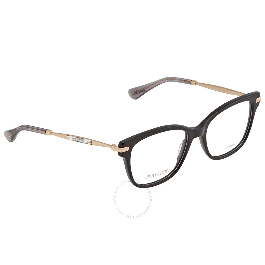 Jimmy Choo 241 Eyeglasses RX Women, Violet Rectangular