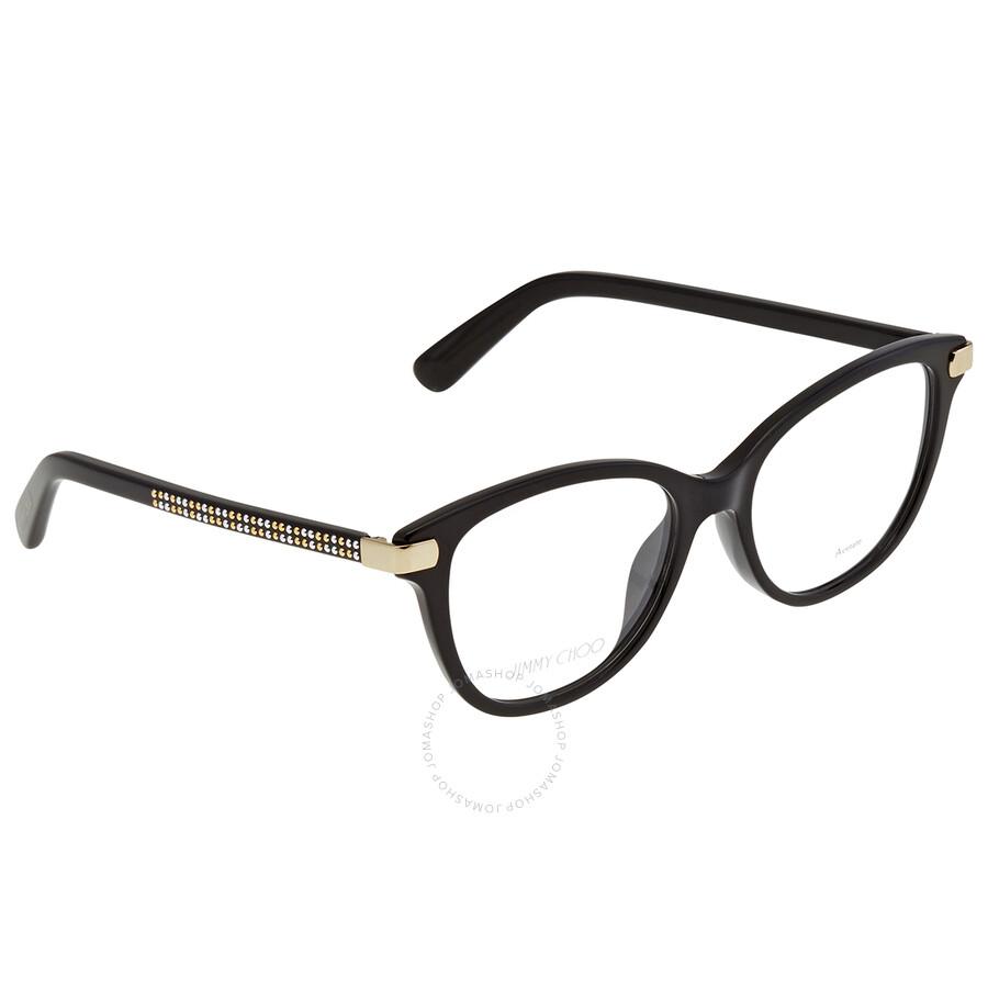 Jimmy Choo Demo Rectangular Ladies Eyeglasses JC211 086 52
