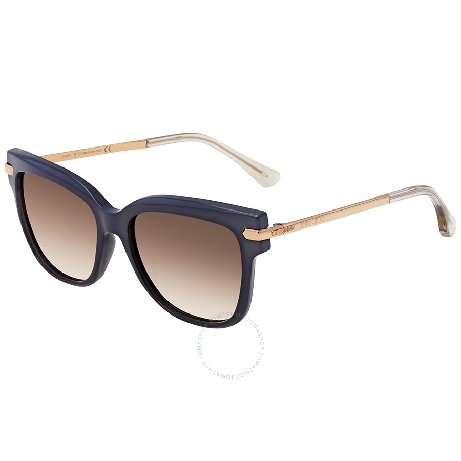 314ee1b1767c Jimmy Choo Light Brown Gradient Square Sunglasses ARA S 549M 54 ...