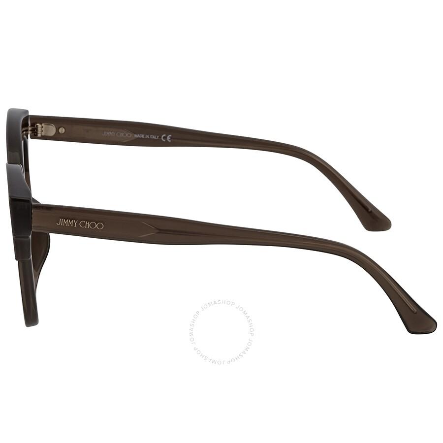 37bdf5d312940 ... Jimmy Choo Mayela Gray Gradient Wayfarer Ladies Sunglasses MAYELA S  50VR 50