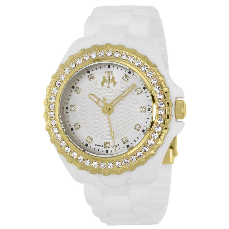 Cherie White Dial Ladies Watch JV8214