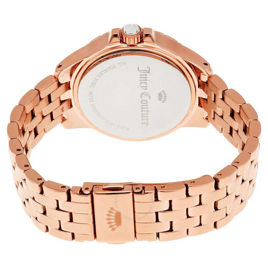 Juicy Couture Charlotte Rose Goldtone Ladies Watch 1901534 Juicy