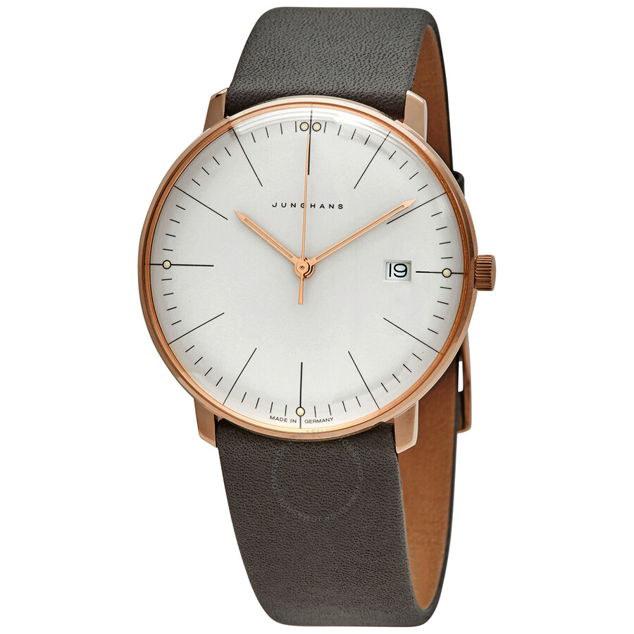 Junghans Max Bill Quartz Silver Dial Men's Watch (041/7857.04)